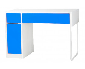 Spector Home Office Blue Workstation