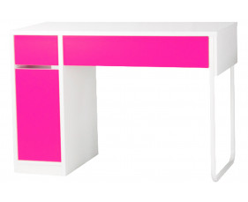 Spector Home Office Pink Workstation