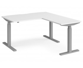 Ascend Deluxe Sit & Stand Single Desk With Return