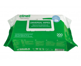 Clinell Universal Wipes (200 Wipes) - NHS Approved NHSSC VJT118