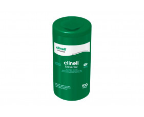 Clinell Universal Tub Wipes (100 Wipes) - NHS Approved NHSSC VJT223