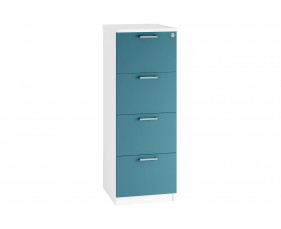 Solero 4 Drawer Filing Cabinet