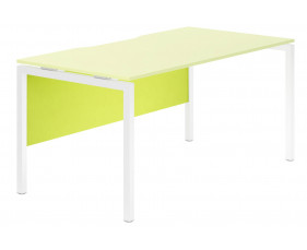 Next-Day Campos Modesty Panel For Single Bench Desks (Green)