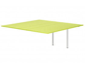 Next-Day Campos Meeting Table Add On Unit (Green)