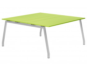 Next-Day Campos A-Frame 6-8 Person Meeting Table (Green)