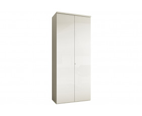 Indigo Tall 4 Shelf Cupboard (Frost White)