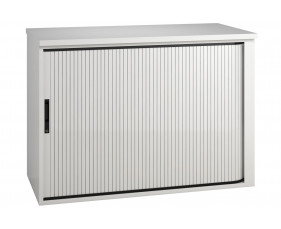 Indigo Low Tambour Unit (Frost White)