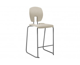 Hille SE Curve Ergonomic Classroom Stool With Back