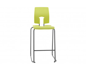 Hille SE Ergonomic Classroom Stool With Back