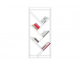 Polar Metal Diagonal Display Shelving Unit