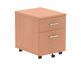 Vitali 2 Drawer Mobile Pedestal