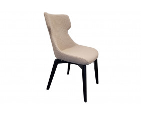 Fleur Lounge Chair With Wooden Frame