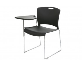 Alberta Stacking Chair With Right Hand Writing Tablet