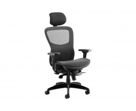 Covert Synchro Mesh Chair With Headrest