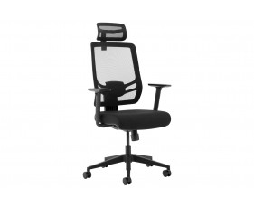 Peryton Twist 24 Hour Mesh Back Executive Chair With Headrest