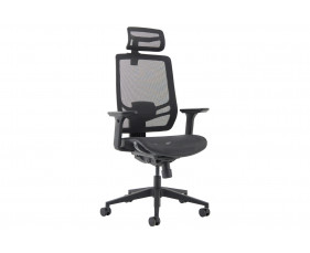 Peryton Twist 24 Hour Full Mesh Executive Chair With Headrest