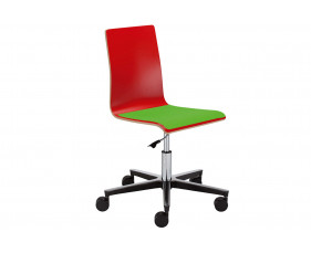 Cassie Swivel Chair With Upholstered Seat
