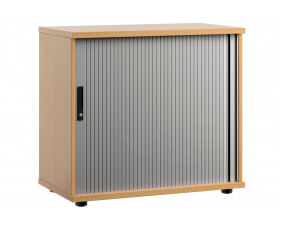 Lozano Low Tambour Unit (Beech)