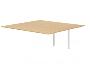 Next-Day Lozano Meeting Table Add On Unit (Beech)