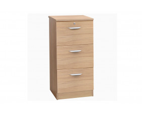 Small Office Mid Height 3 Drawer Filing Cabinet