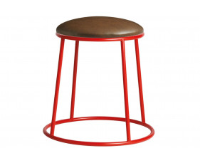 Mulluna Low Stool With Upholstered Seat