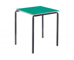 Square Crush Bent Classroom Tables 4-6 Years