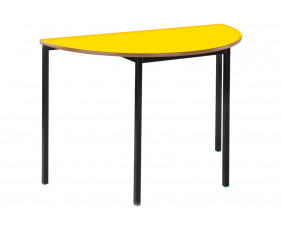 Semi-Circular Fully Welded Classroom Tables 4-6 Years