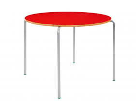 Circular Crush Bent Classroom Tables 3-4 Years