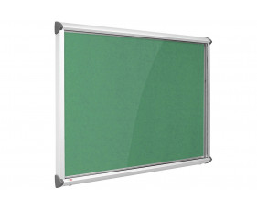 Resist-A-Flame Shield Eco Colour Aluminium Framed Showcase