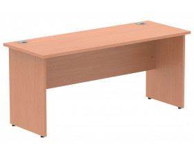 Vitali Panel End Narrow Rectangular Desk