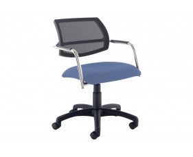 Pack Of 2 Thon Mesh Back Swivel Chairs