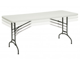 Rosenberg Height Adjustable Rectangular Folding Tables