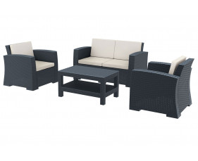 Medea 2 Seater Lounge Set