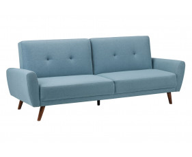 Connelly Fabric Sofa Bed (Blue)