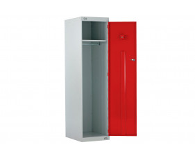 Police Lockers With CS Canister Holder