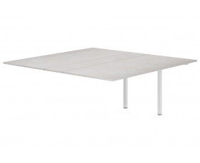 Next-Day Lasso Meeting Table Add On Unit (Concrete)