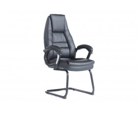 Duffy Faux Leather Visitor Chair
