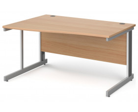 Next-Day Tully Deluxe Left Hand Wave Desk