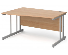 Next-Day Tully II Left Hand Wave Desk
