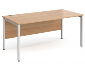 All Beech Bench Rectangular Desk