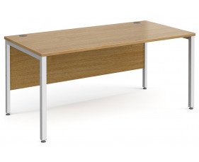 All Oak Bench Rectangular Desk