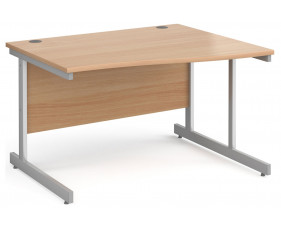 Next-Day Tully I Right Hand Wave Desk
