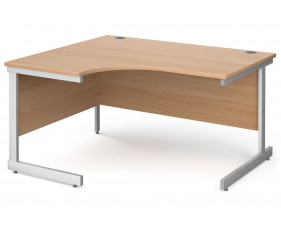 Next-Day Tully I Left Hand Ergonomic Desk