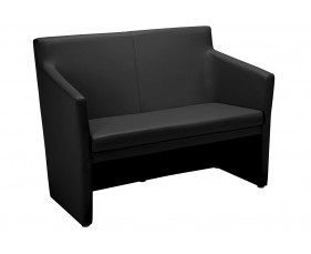 Lincoln 2 Seater Square Back Tub Sofa