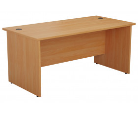 Proteus Panel End Rectangular Desk