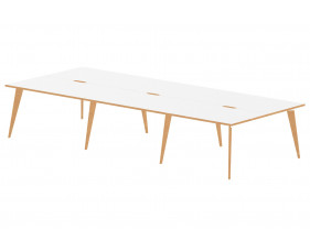 Vanara Triple Back To Back Bench Desk