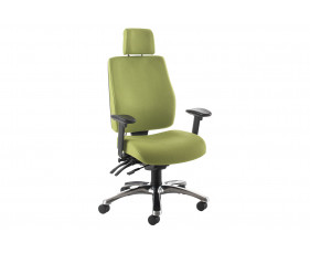 Indre High Back Operator Chair With Headrest