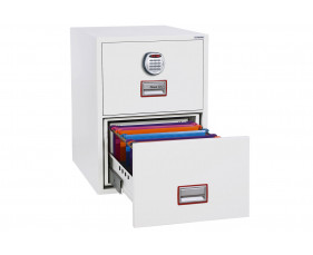 Phoenix World Class Vertical FS2252E Fire File 2 Drawers With Electronic Lock