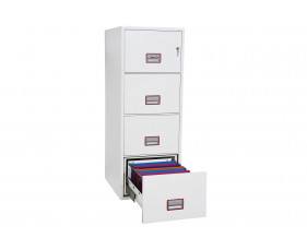 Phoenix World Class Vertical FS2254K Fire File 4 Drawers With Key Lock