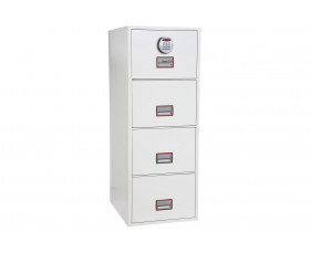 Phoenix World Class Vertical FS2264E Fire File 4 Drawers With Electronic Lock